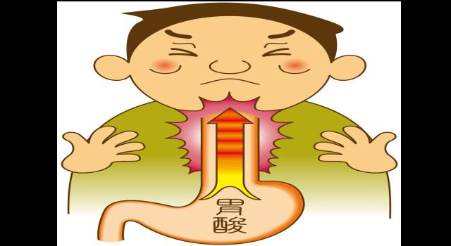 「逆流性食道炎」の説明画像です。