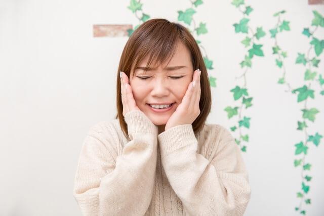 「顎関節症(がくかんせつしょう)」の画像です。