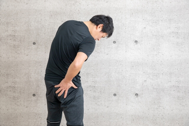 「坐骨神経痛」の画像です。