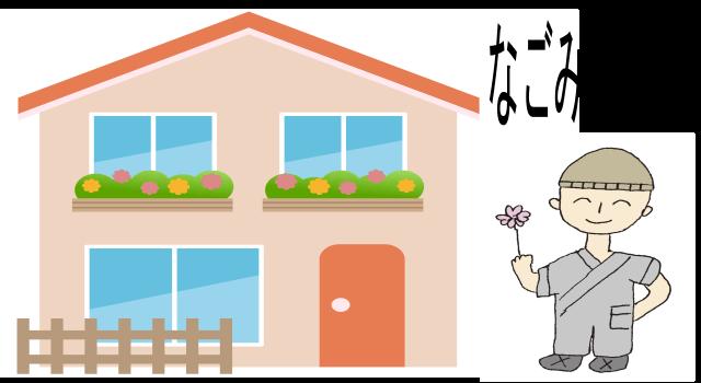 なごみ整骨院 建物 キャラクター