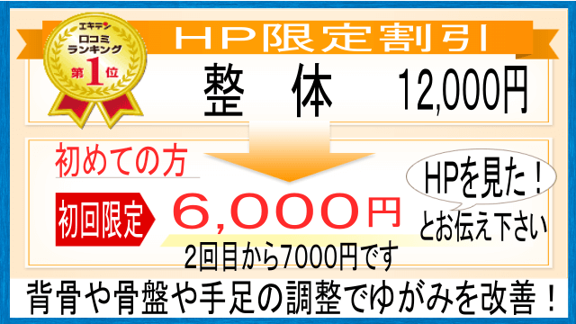 整体は、初回のみ6000円です。